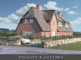 *Verkauft* Westseite Wenningstedt: Neubau zweier exklusiver Reetdachhausteile in Bestlage - TITELBILD