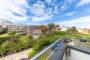 Helles 1-Zimmer-Appartement mit Balkon in direkter Stadt- und Strandnähe - BILD